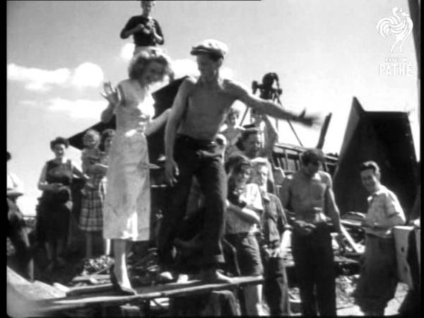 Selected Originals Four Men A Girl And 'ken Tooki' 1952