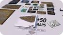 VIDEO GAME Maps Size Comparison 2019