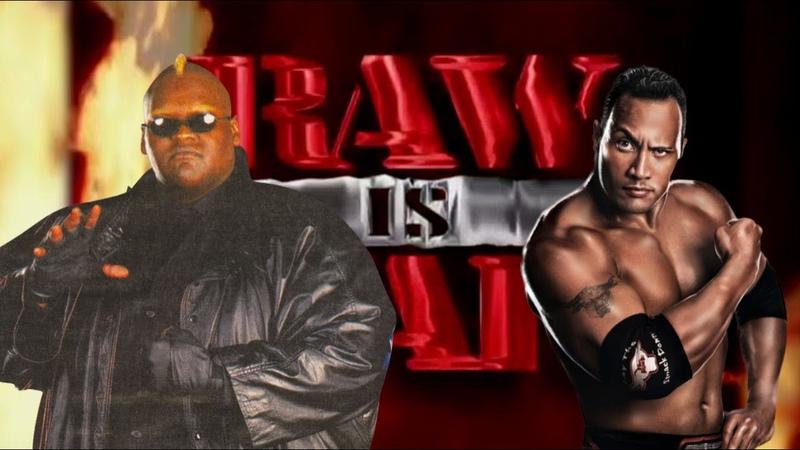 WWE 2K20 Viscera vs The Rock Raw Is War '99