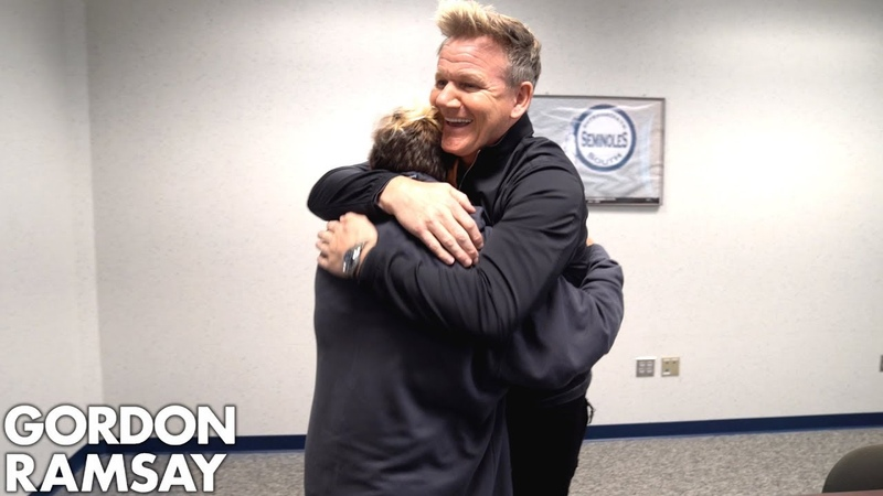 Young Girl Battling Cancer Gets a Surprise of a Lifetime from Gordon Ramsay
