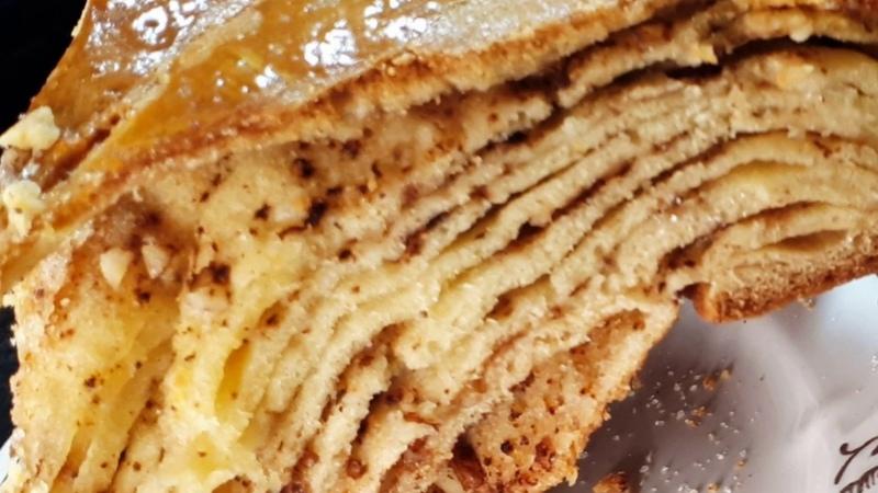 Слойки на кефире выпечка к чаю от которой не возможно отказаться любят все Tasty pastries recipe
