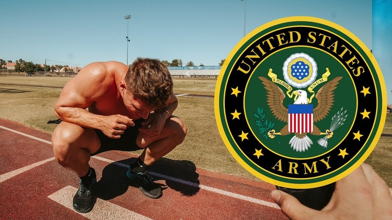 I Took The US ARMY FITNESS TEST Without Practice!! 😳🤢