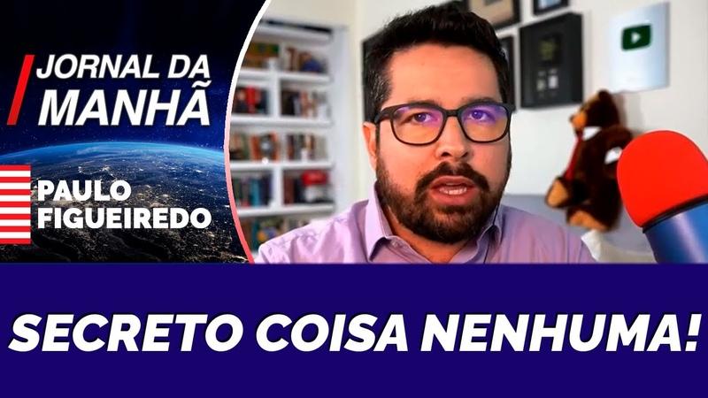 Paulo Figueiredo Se Revolta ao Vivo Contra a Farsa do Orçamento Secreto