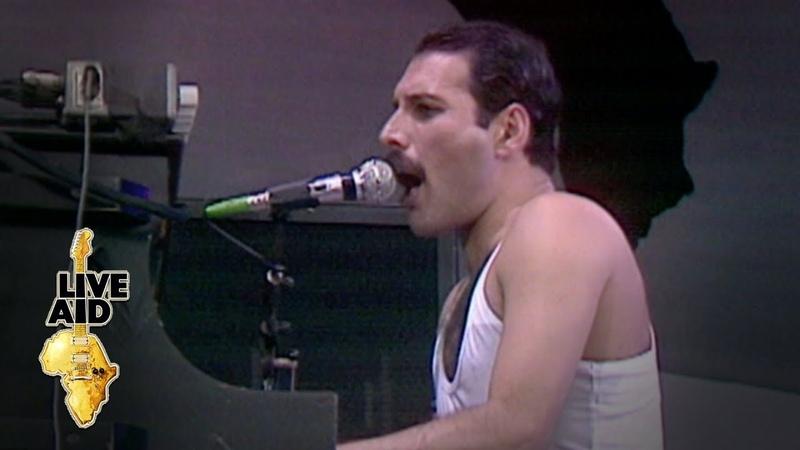 Queen Bohemian Rhapsody Live Aid 1985