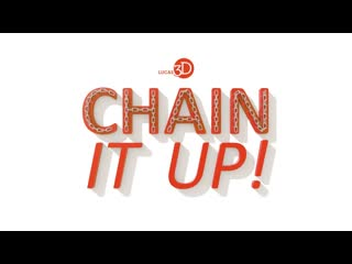 Chain it up! #lite free 3ds max script to create chains.