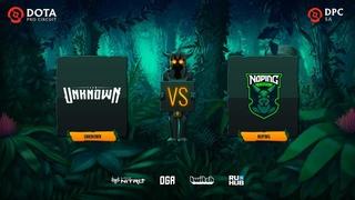 Unknown vs NoPing, Dota Pro Circuit 2021: S1 - SA, bo3, game 1 [Lex & 4ce]