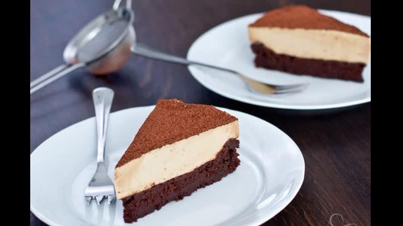 Шоколадный торт без муки с кофейным муссом Больше рецептов в группе Шеф кондитер