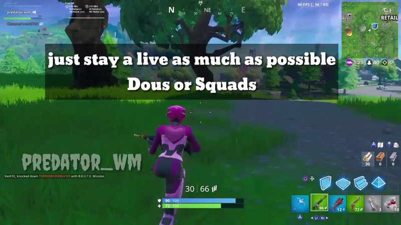 Outlast opponents in Dous or Squads mode 0 150