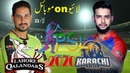Lahore qalandars vs karachi kings line on mobile II psl2020 II psl live match II hbl psl