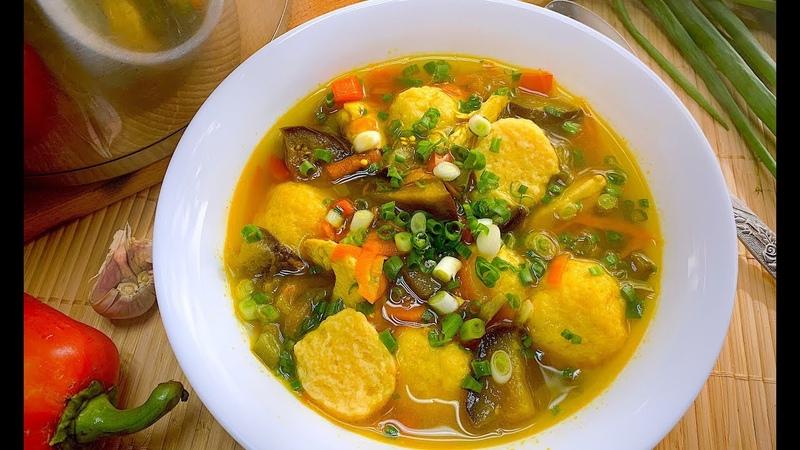 РЕЦЕПТ из ГАЗЕТЫ Оказался ТАКИМ ВКУСНЫМ! Болгарский Суп с Сырными Шариками