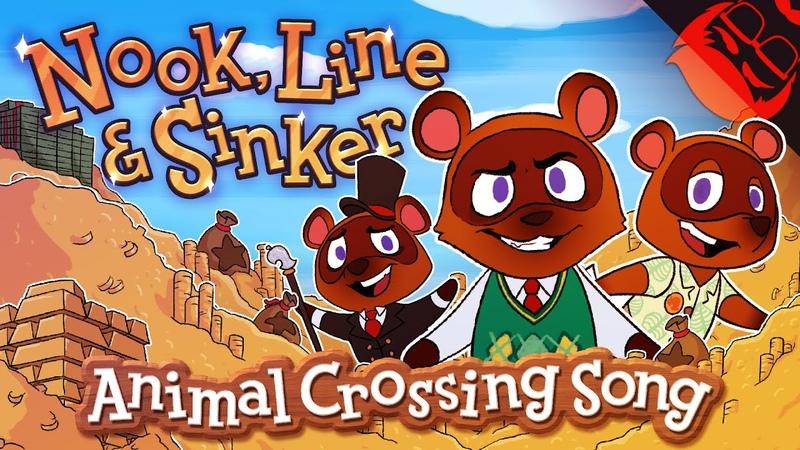 NOOK LINE SINKER Animal Crossing New Horizons Song