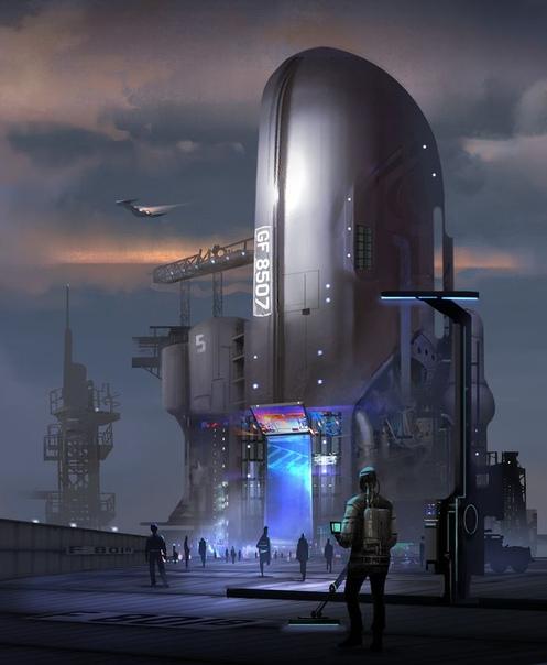 sci fi art - HD1315×1600