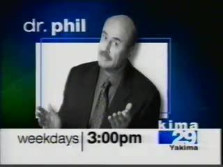 Конец эфира (CBS/KIMA-TV [г. Якима, США], 02.03.2003)