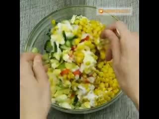 Идеи для вкусных салатов