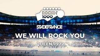 We Will Rock You - Queen / Rockin'1000 at Stade De France