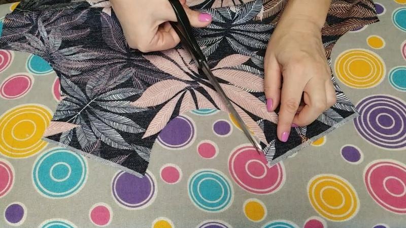 Как шить трикотаж чтобы он не растянулся Подготовка к пошиву срезов плеча и проймы