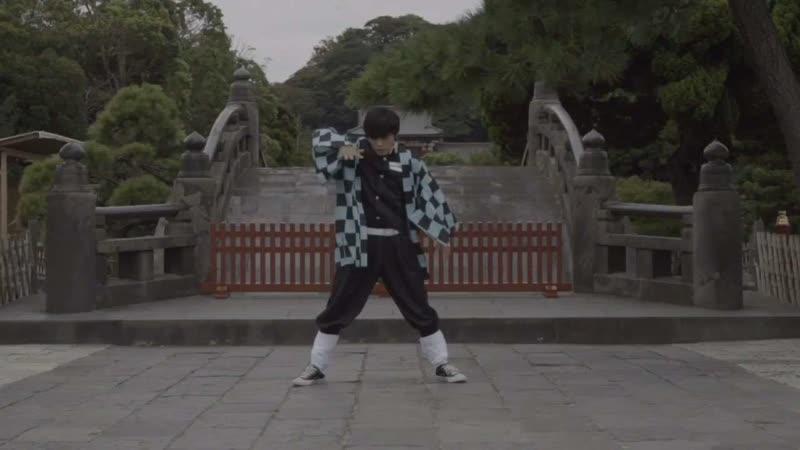 【踊ってみた】鬼滅の刃OP【ろみお】 720 x 1280 sm35676682