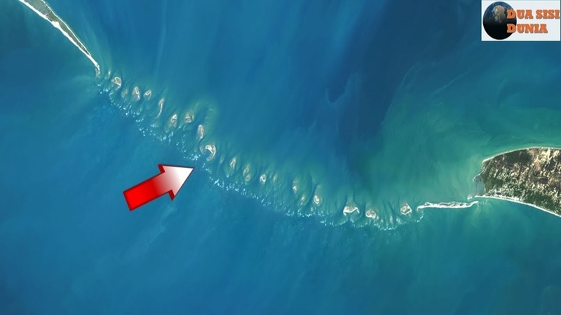 Saat Air Laut Surut, Peneliti Dikejutkan Dengan Tanah yang Tiba2 Muncul. Tenyata Itu.. Wooww