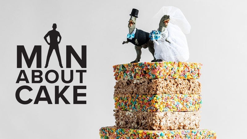 JJR's Cereal Treat Wedding Cake | Man About Cake