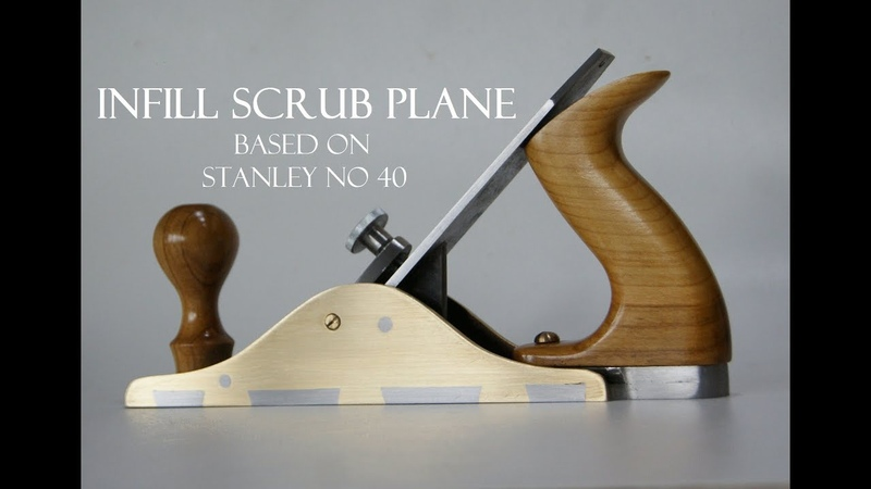 005 Infill scrub plane - based on Stanley no 40 hand plane TOOLMAKE18 For woodworking