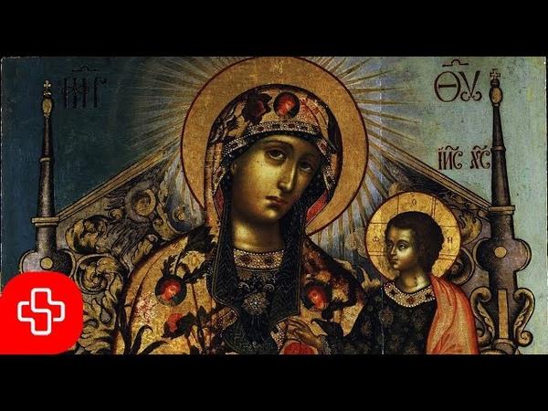 Greek Byzantine orthodox chant Agni Parthene Αγνή Παρθένε (Lyric Video)