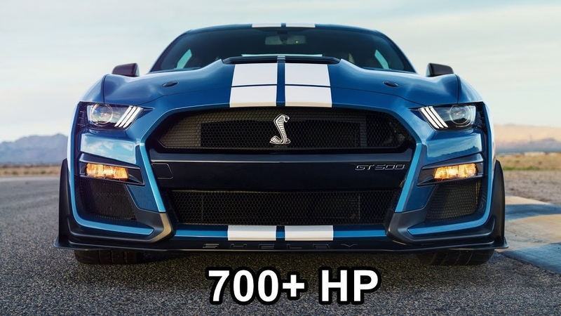 2020 Mustang Shelby GT500 The Most Powerful Mustang Ever for Street Track or Drag Strip!