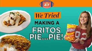 We Tried Making a DIY Chili Cheese Frito Pie & It Looks AMAZING | We Tried It |