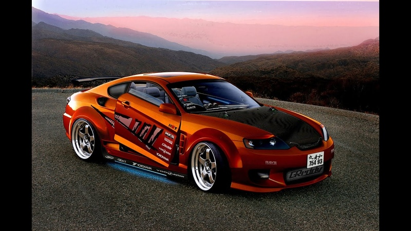 Need for Speed Underground 2 Hyundai Tiburon GT V6 Ring Drag