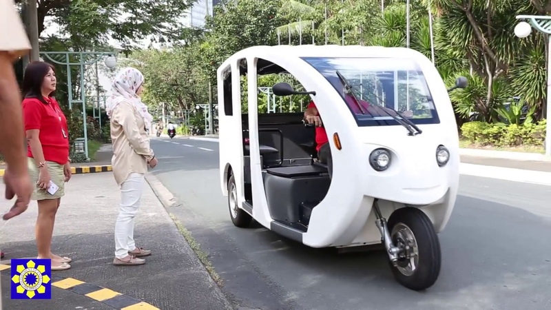 Watch the Most Modern Tricycle in Philippines DOE E Trike Project
