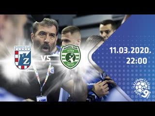 Загреб - Татран. 1/4 финала SEHA-Лиги.