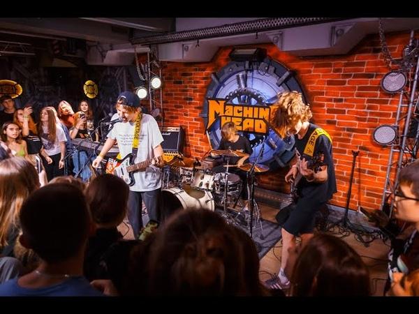 Папин Олимпос - Таксолёт [Machine Head Club] (Саратов) (Live) 28.08.2019