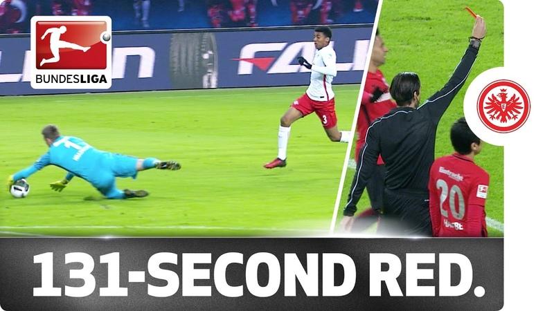 Fastest Goalkeeper Red Card - Hradecky Howler Sets Bundesliga Record
