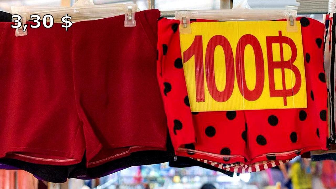 Цены на одежду и сувениры в Таиланде (фото). L7KV7wzHkQY