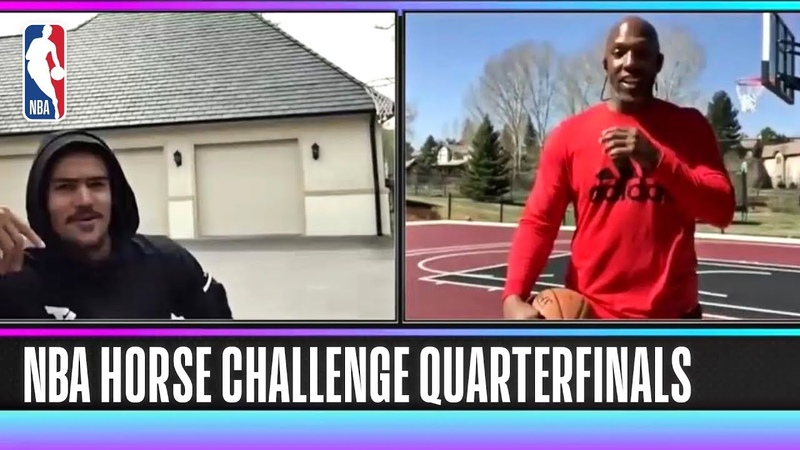 NBA HORSE Competition Trae Young vs Chauncey Billups