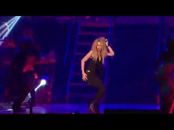 Así fue el esperado regreso de Shakira a los escenarios VIDEO