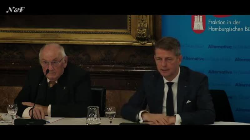 Hitzige Diskussion über Klimawandel und CO2- Bürger fragen Karsten Hilse -AfD- und Heinrich Duepmann
