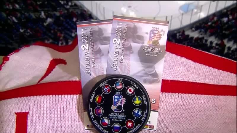 Молодежный Чемпионат Мира 2011 14 финала Сборная Финляндии-Сборная России