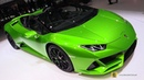 2019 Lamborghini Huracan Evo Spyder Walkaround 2019 Geneva Motor Show