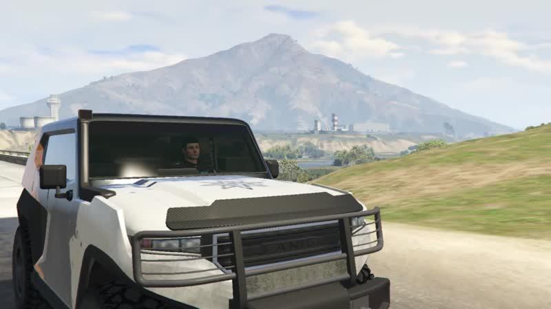 Трасса бездорожья в GTA Online от G.V.P