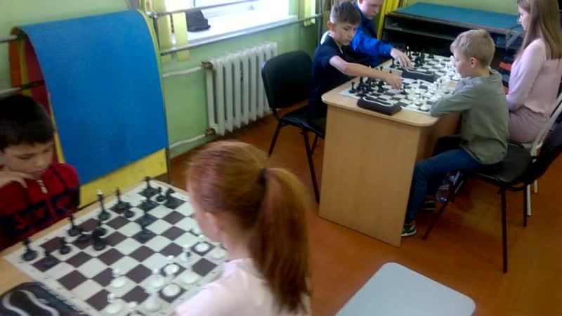 Чемпионат Маслянинского района по шахматам среди общеобразовательных школ 2019года 1 этап