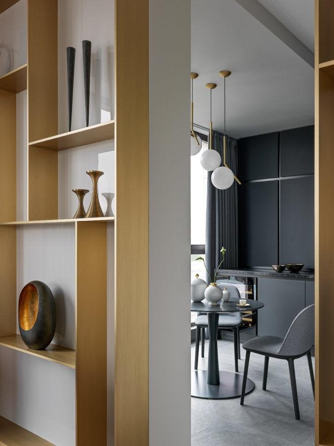 Квартира всерых тонах, 100м² от бюро Ab-architects  || 01
