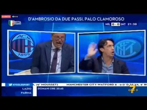Milan vs Inter 0 - 2 TRAMONTANA VS CRUDELI 😂😂😂 DIRETTA STADIO DEL 210919