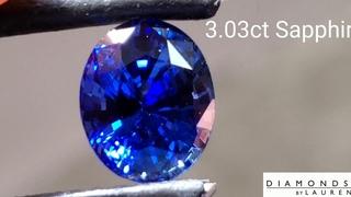 Rich Blue Sapphire AGL Report R8758