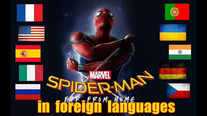 Spider Man. Far From Home. In different languages. What's the best dubbing?