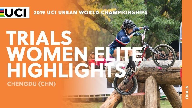 Trials Women Elite Final Highlights | 2019 UCI Urban Cycling World Championships