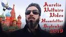 Aurelio Voltaire September 2019 Video Nooseletter