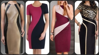 casual black boho strapless Bodycon dresses N Outfits Design for curvy and different body types
