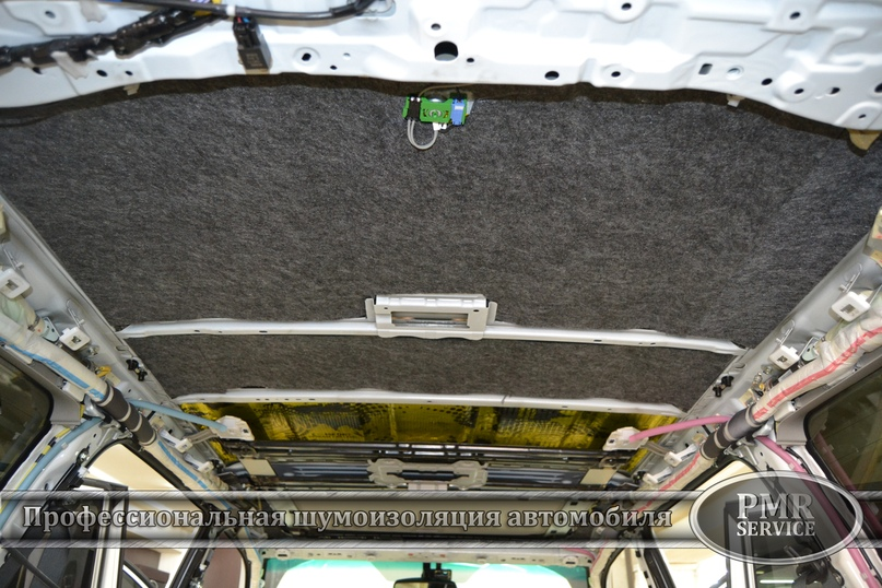 Комплексная шумоизоляция Toyota Land Cruiser 200, изображение №5