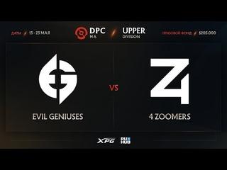 Evil Geniuses vs 4 Zoomers, Dota Pro Circuit 2021 NA S2, bo3, game 1 [Eiritel & Lost]