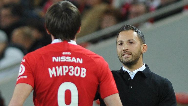 Агент прокомментировал информацию о возможном переходе Мирзова в «Арсенал»